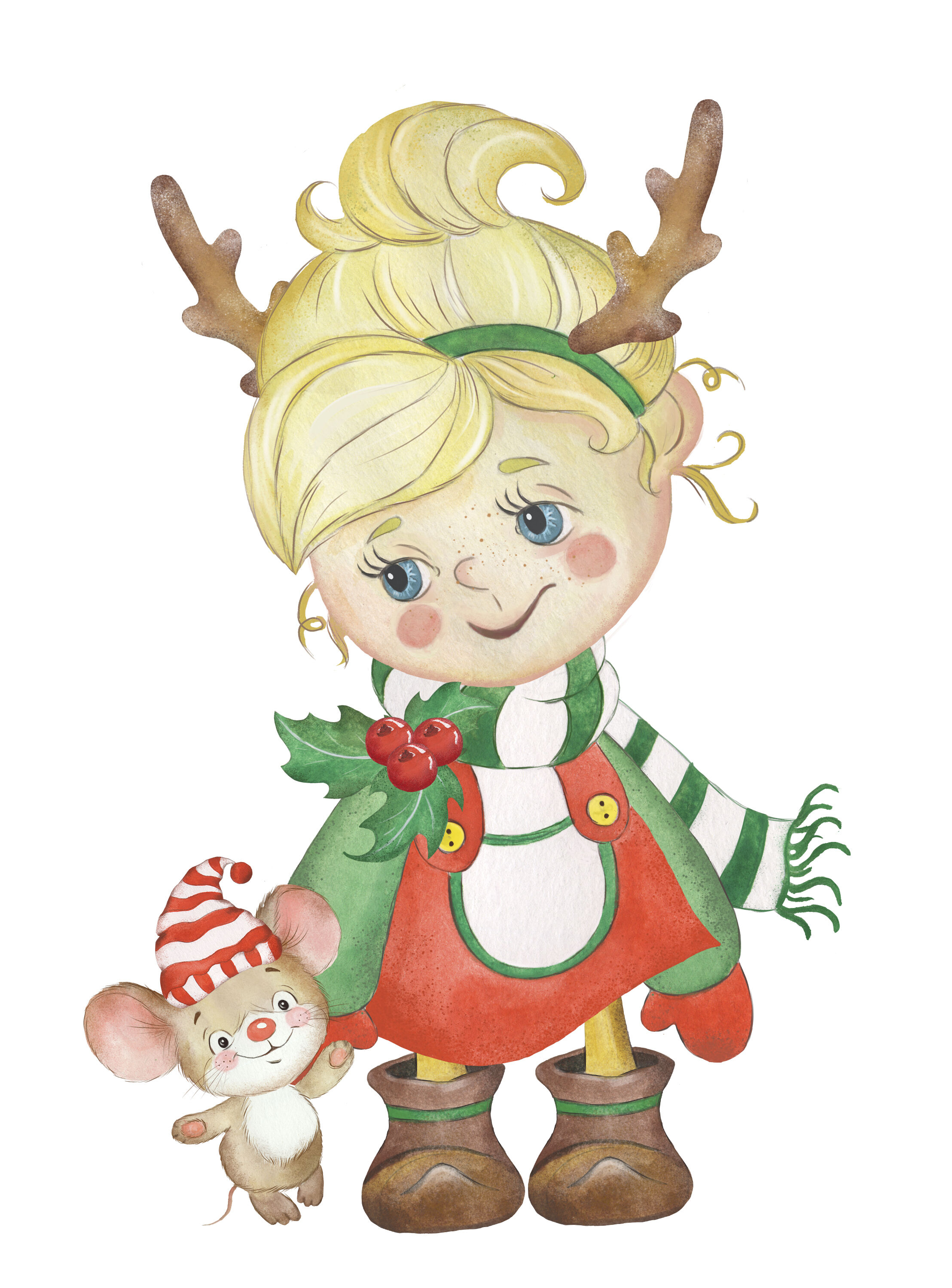 Christmas Kids Clipart Christmas Boy Christmas Girl Elf