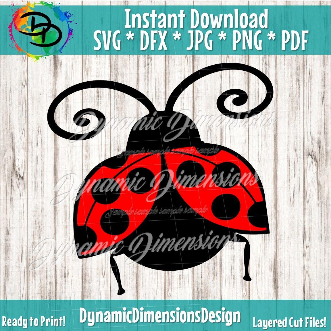 Ladybug Svg Love Bug Beetle Svg Lady Bug Svg Love Bug Svg