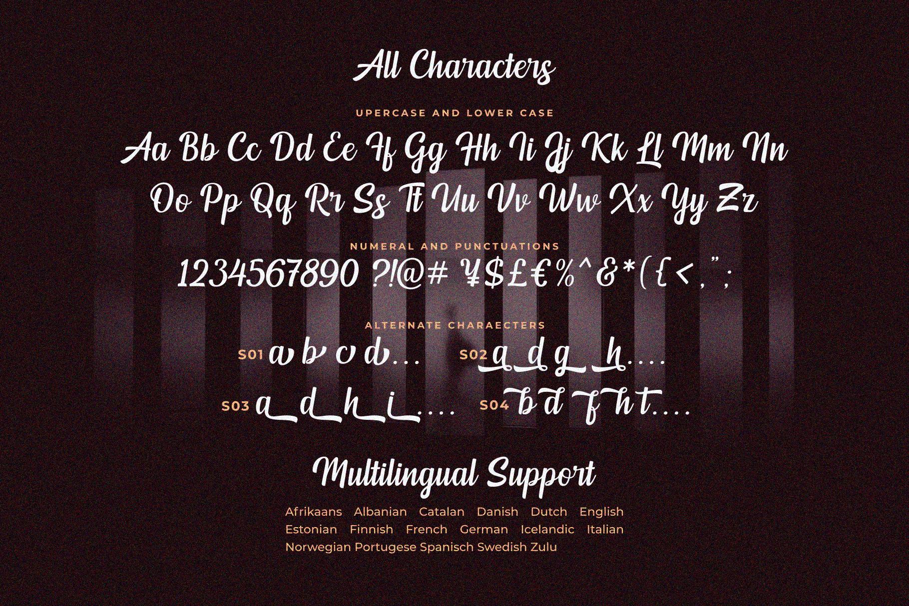 Mendoan Script Font By Java Pep Thehungryjpeg Com
