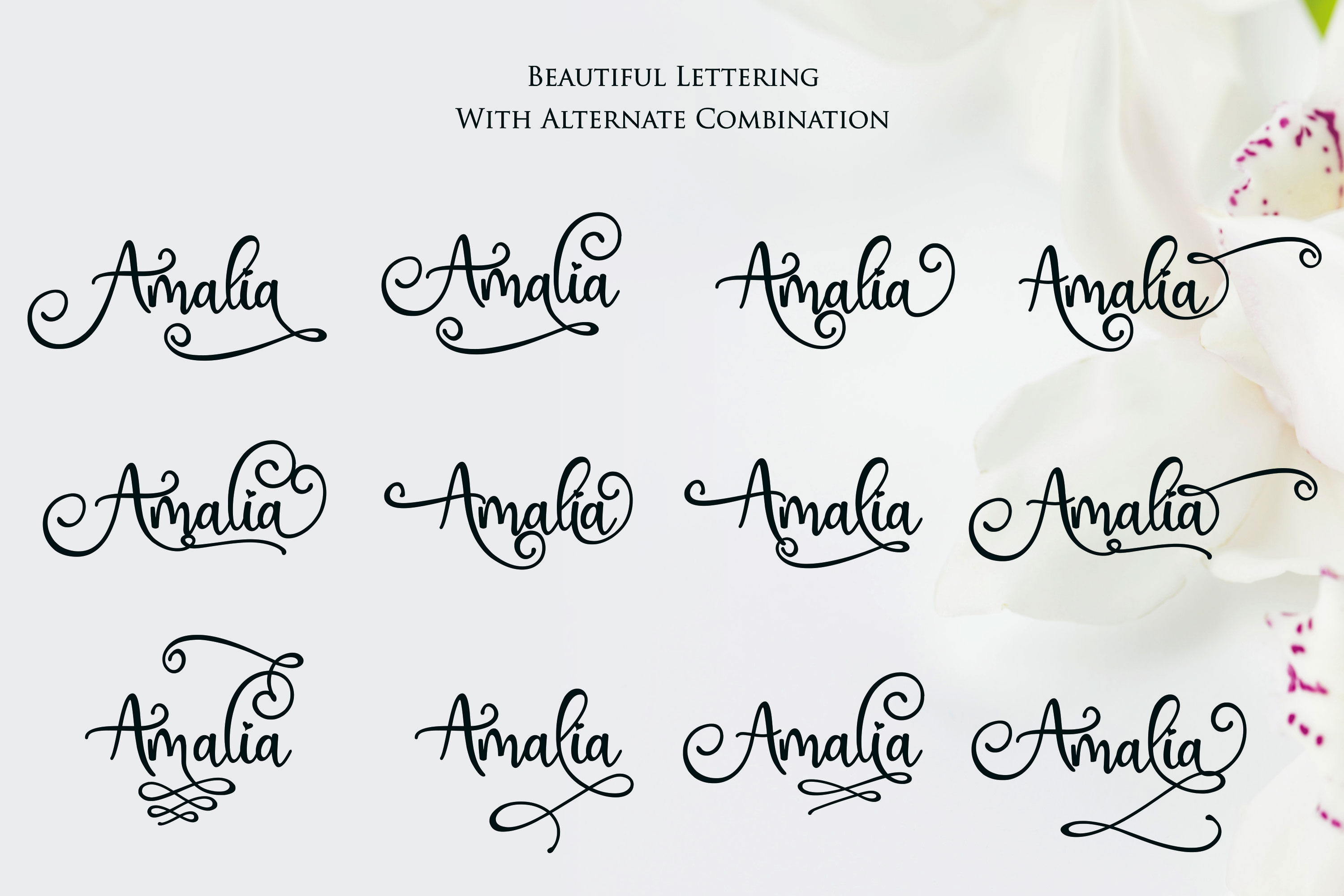 Hai Butterfly Font Duo By Girinesia Thehungryjpeg Com