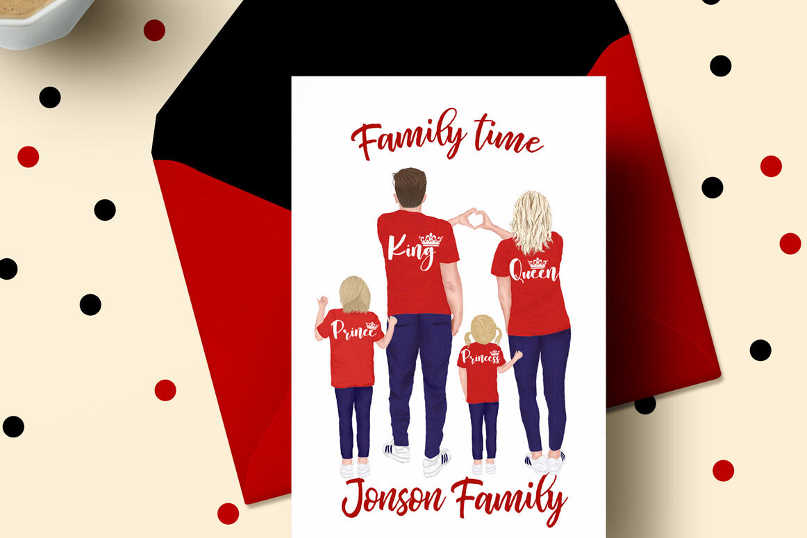Family Clip Art Parents Clipart Kids Clipart Family Figures By