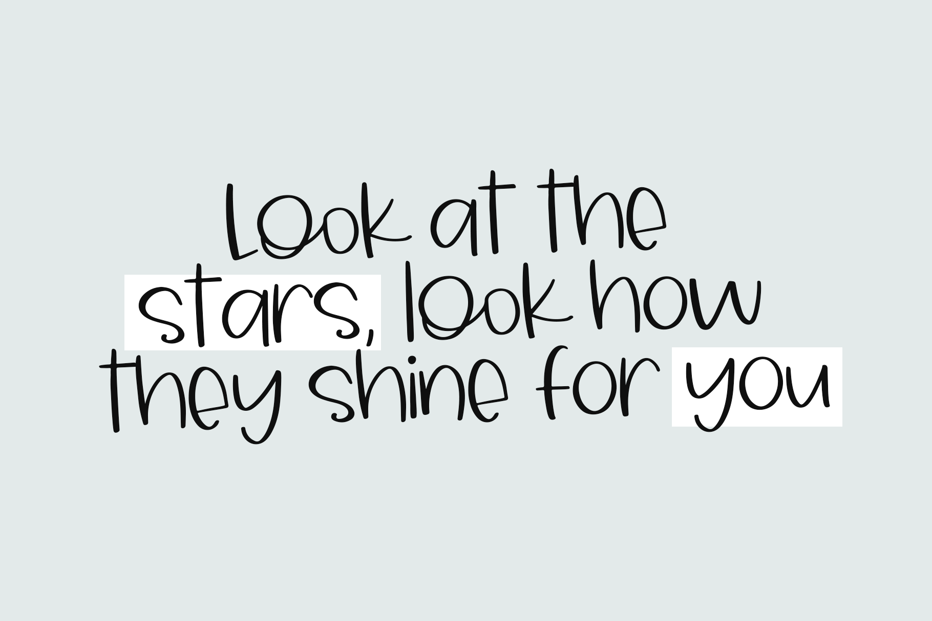 Sky Light A Cute And Quirky Handwritten Font By Ka Designs