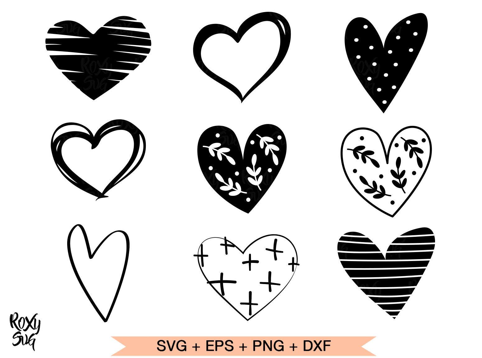 Heart Svg Hearts Svg Hearts Clipart Heart Shape Svg By Lovely