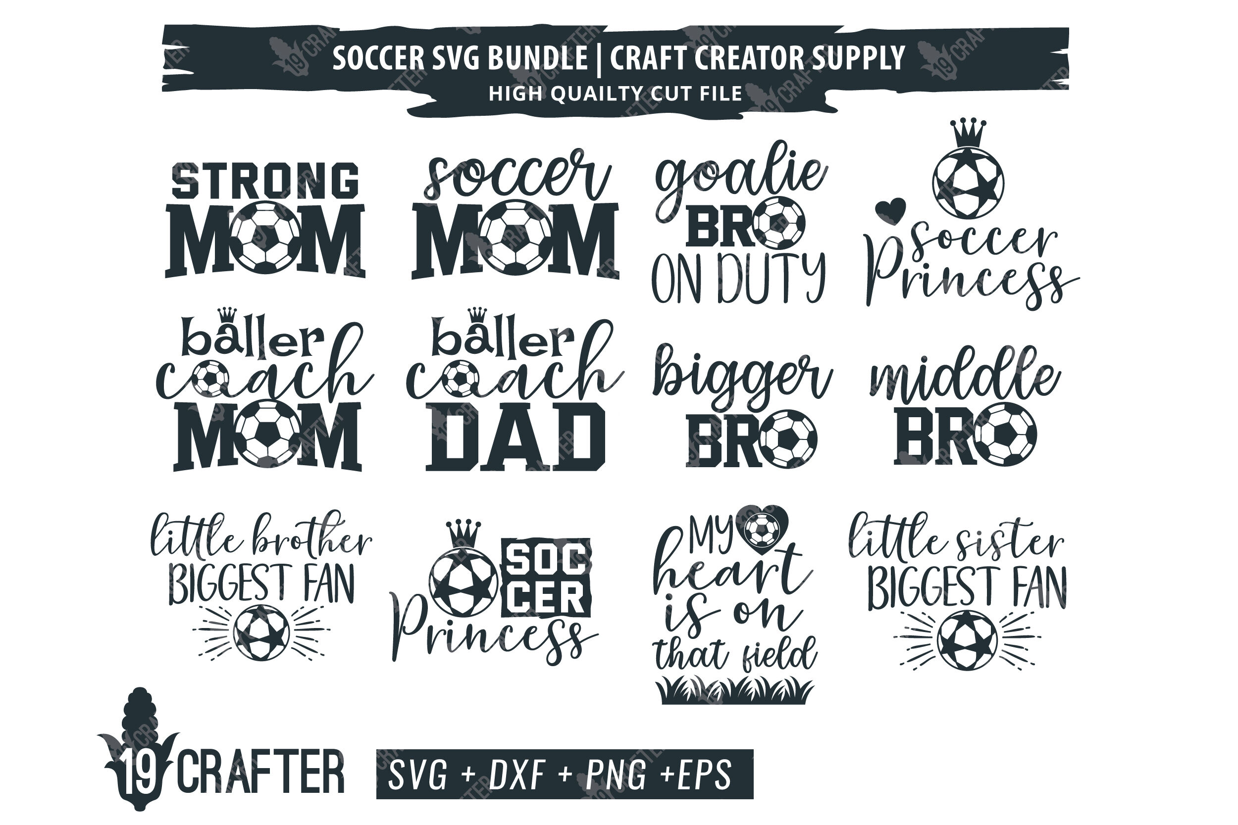 Soccer Family Svg Bundle By Greatype19 Thehungryjpeg Com