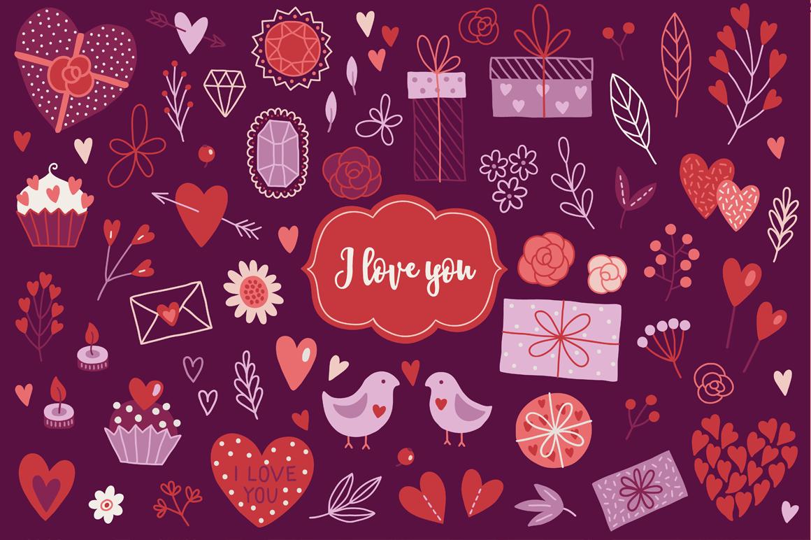 12 Valentine Seamless Patterns By Miu Miu Thehungryjpeg Com