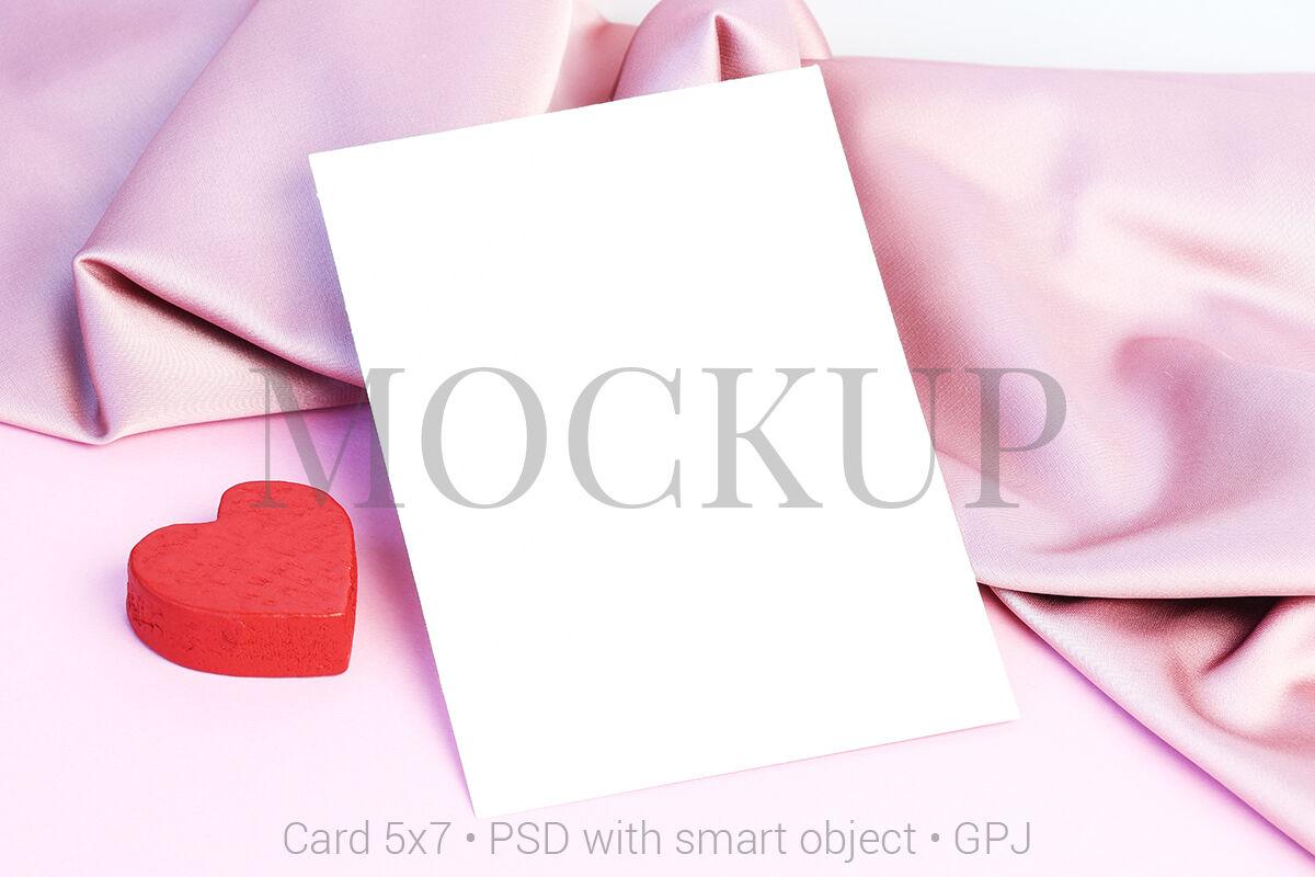 Card Mockup Psd