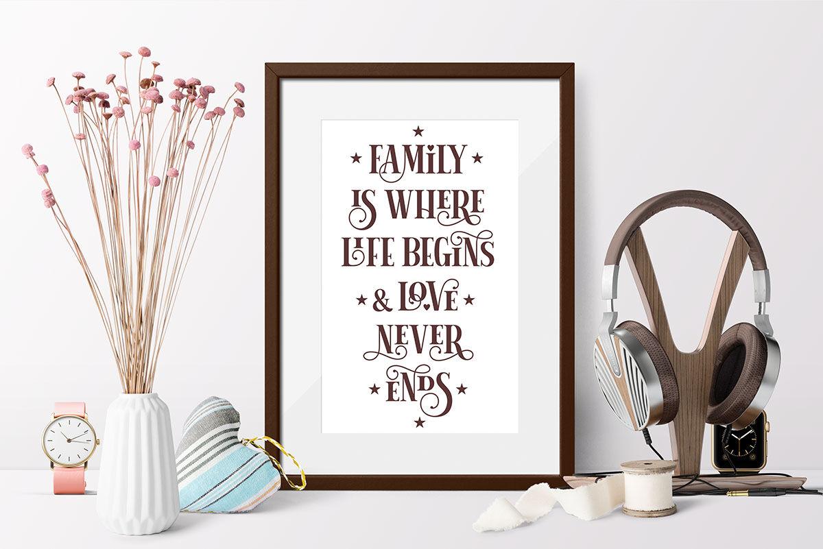 Love Family Quotes Svg Bundle Vol 2 By Zoya Miller Svg