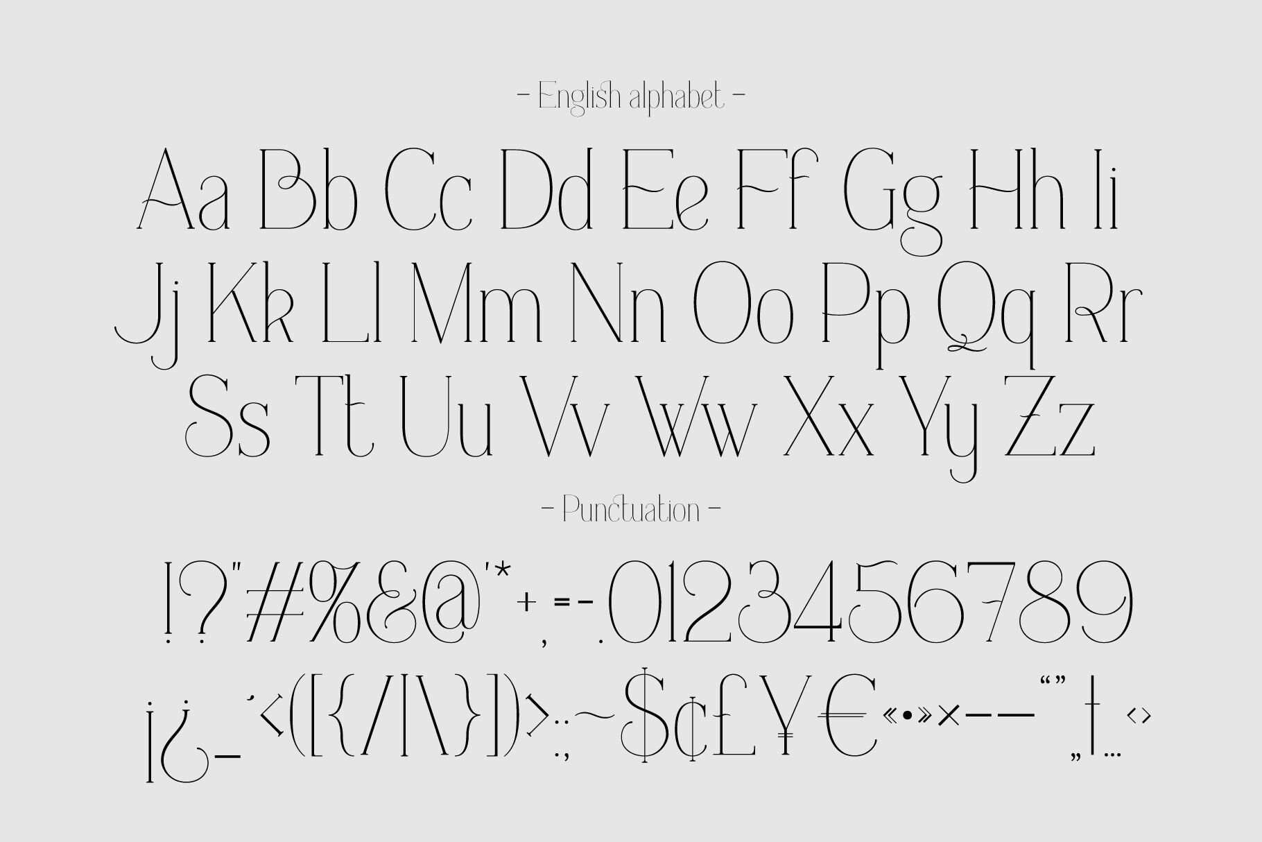 Everleigh Serif Font By Gleb Natasha Guralnyk Thehungryjpeg Com