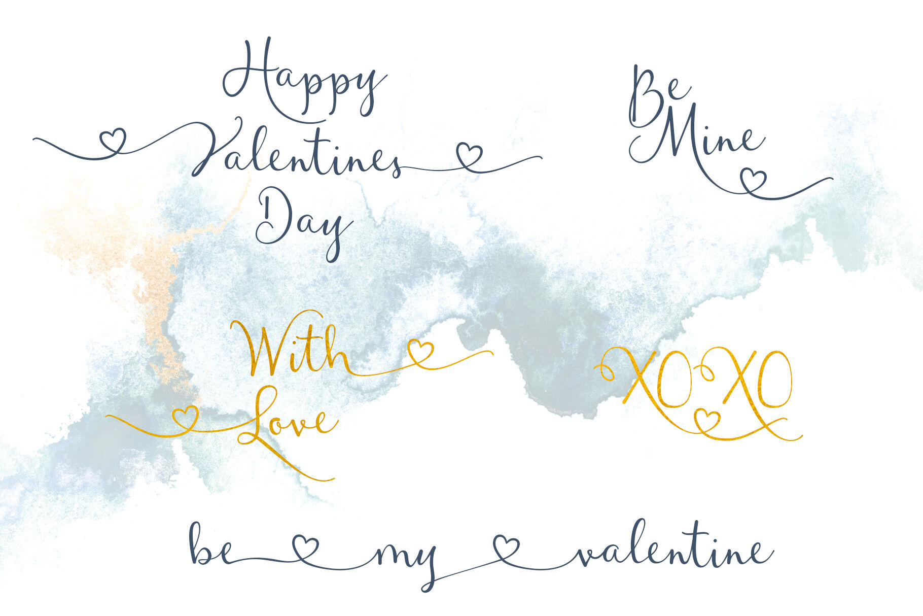 Waterfalls Wedding Font Love Font Heart Swash Font By Joanne Marie