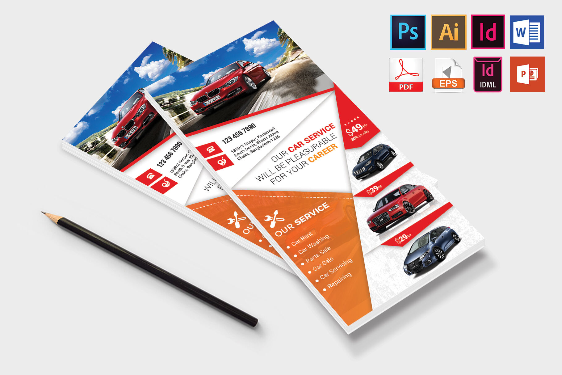 Download Vehicle Branding Mockup Psd Free Yellowimages
