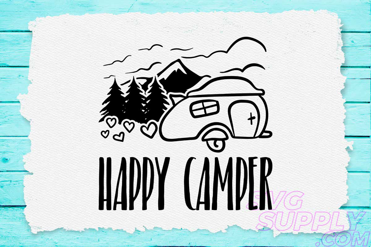 Happy Svg Design For Adventure Handcraft By Cuttingsvg
