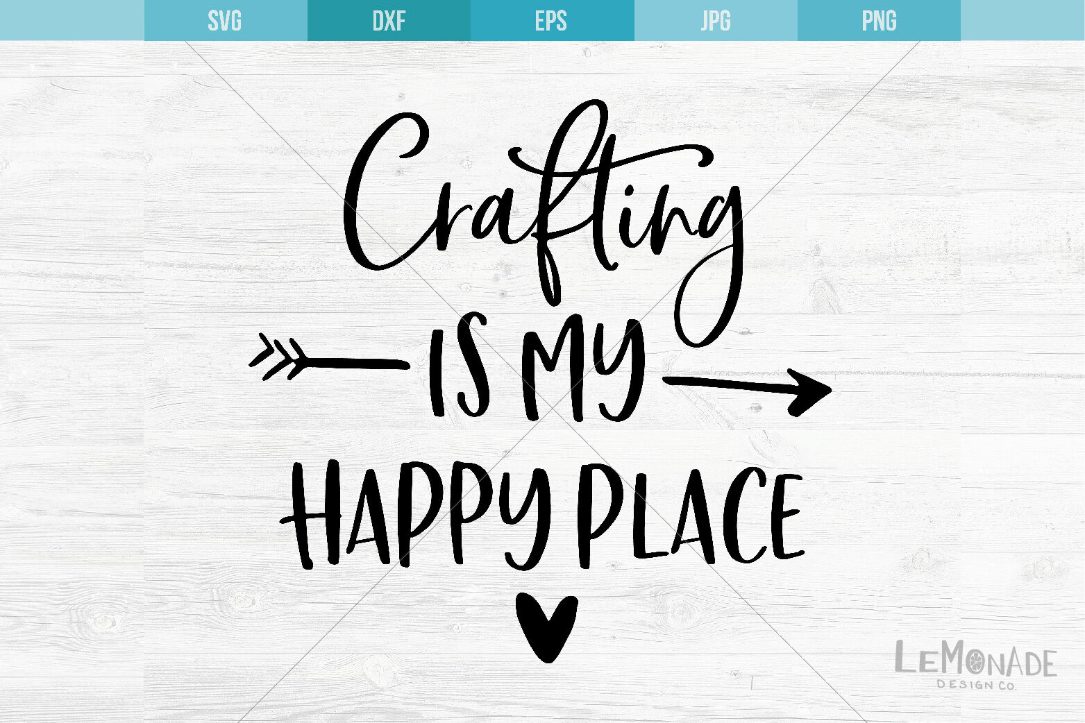 Crafting Is My Happy Place Svg Cut File Cutting File Svg By