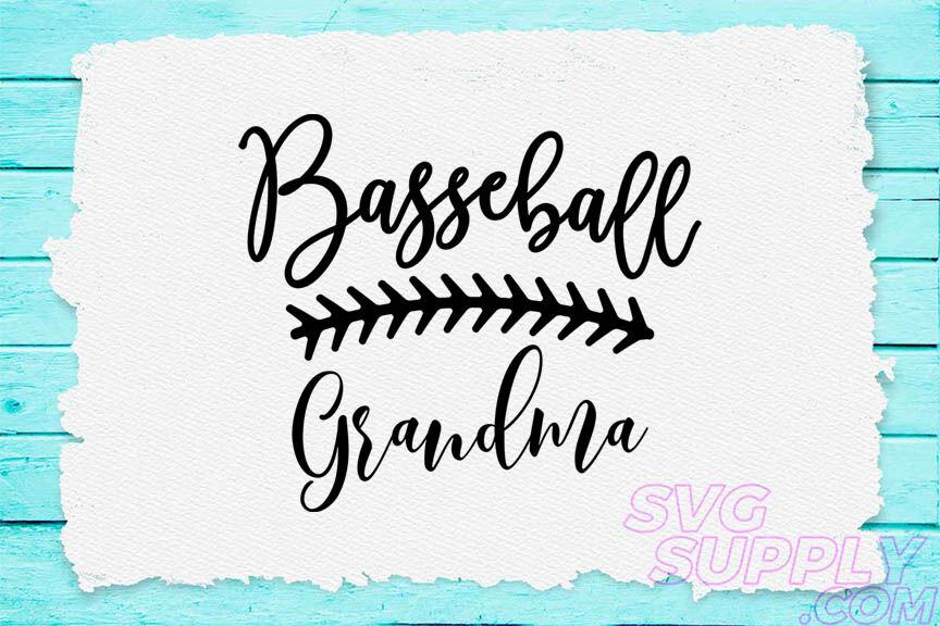 Baseball Grandma Clipart Svg For Baseball Tshirt By Cuttingsvg