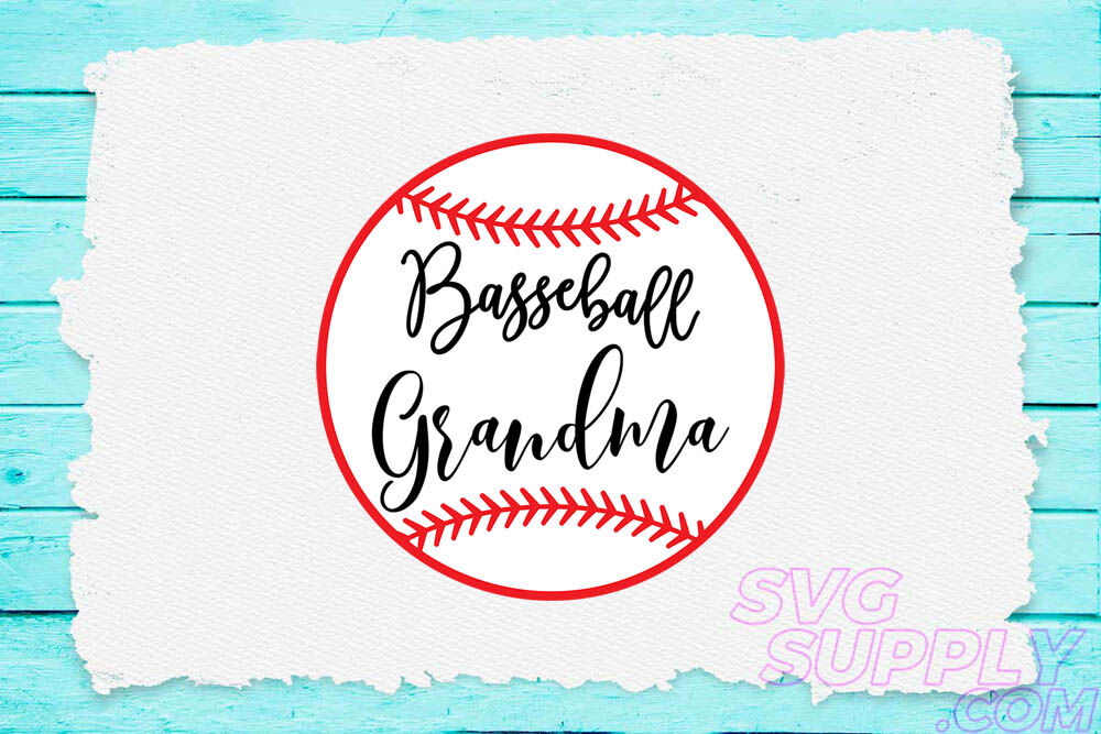 Baseball Grandma Svg For Baseball Tshirt By Cuttingsvg