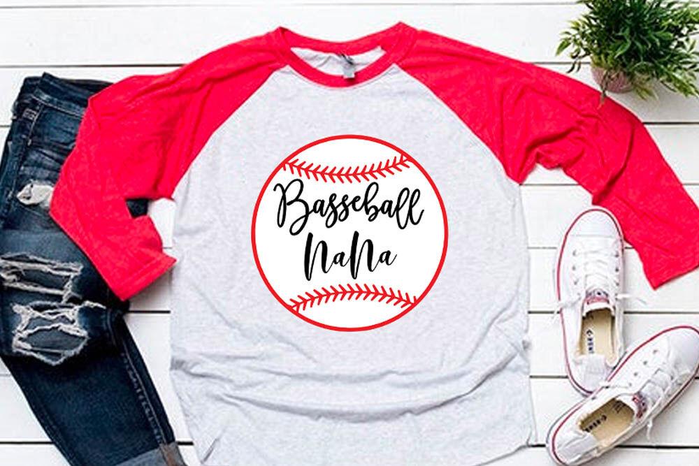 Baseball Nana Svg For Baseball Tshirt By Cuttingsvg