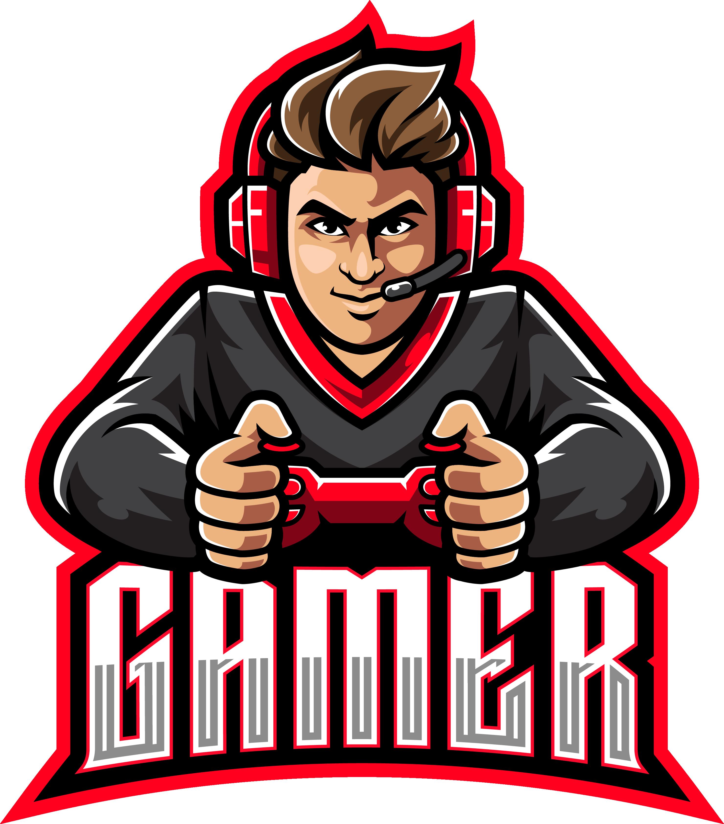 Gamer Esport Mascot Logo Design By Visink Thehungryjpeg Com