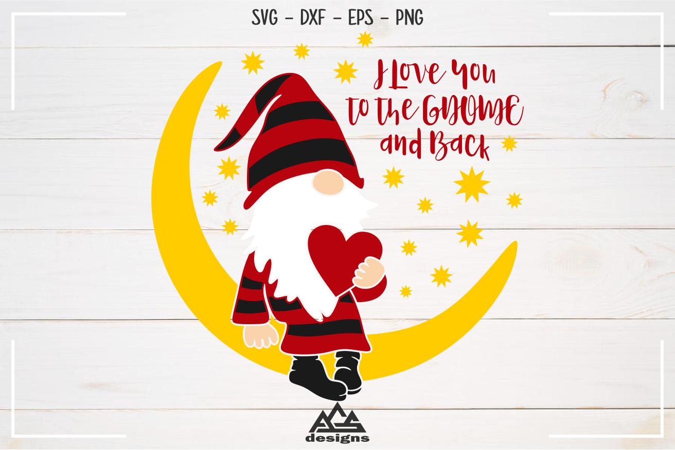Download Gnome Valentine - Love You To The GNOME Svg Design By ...