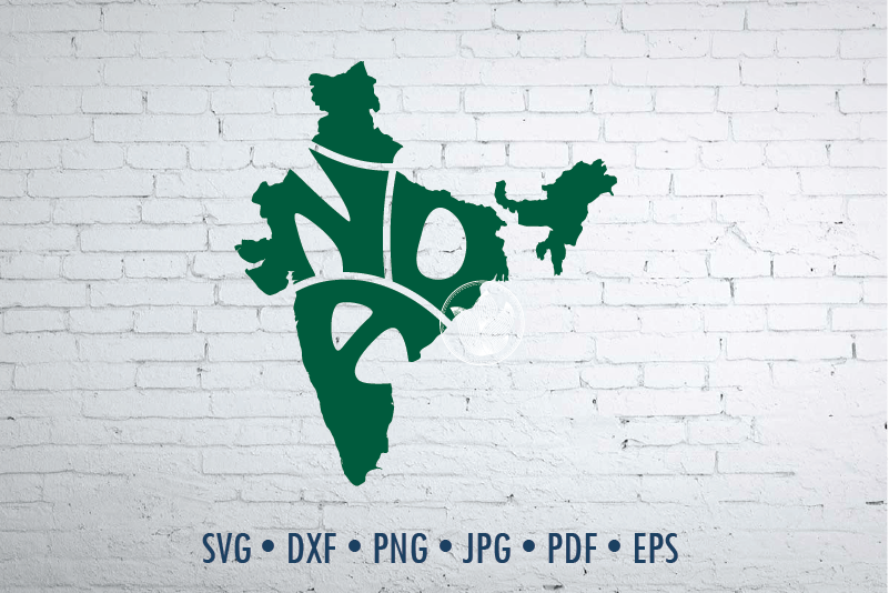 India Word Art In Map Shape Svg Dxf Eps Png Jpg India Logo