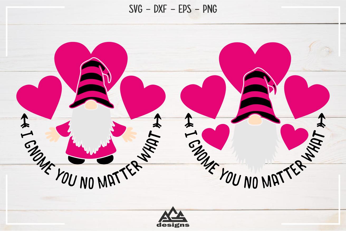 Love Gnome Valentine Gnome Svg Design By Agsdesign Thehungryjpeg Com
