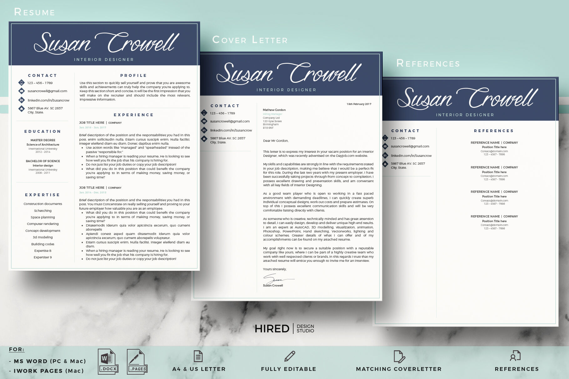 32+ Wonderful Cover Letter Microsoft Word Template  That Wow