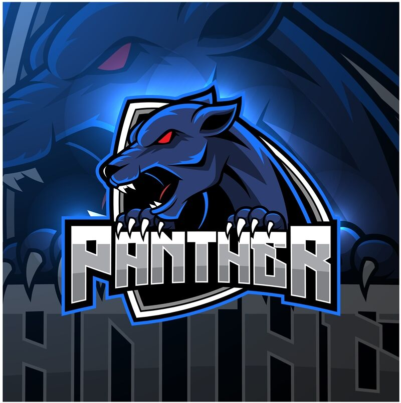 Angry Panther Mascot Logo Design By Visink Thehungryjpeg Com