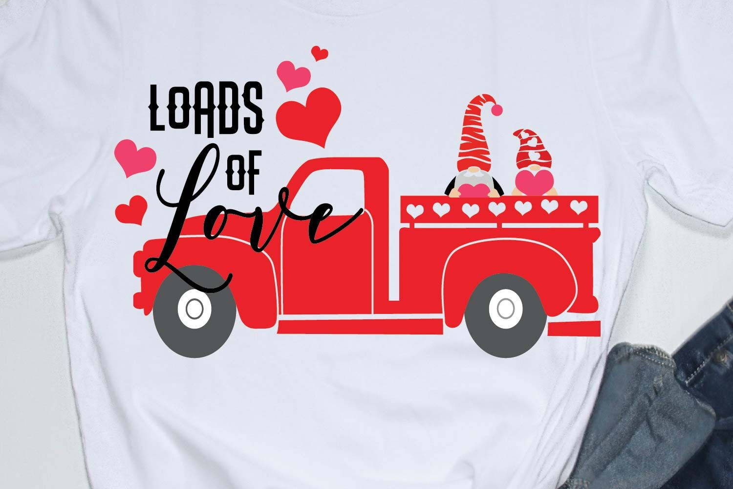Happy Valentines Day Quote Svg Loads Of Love Truck Valentine