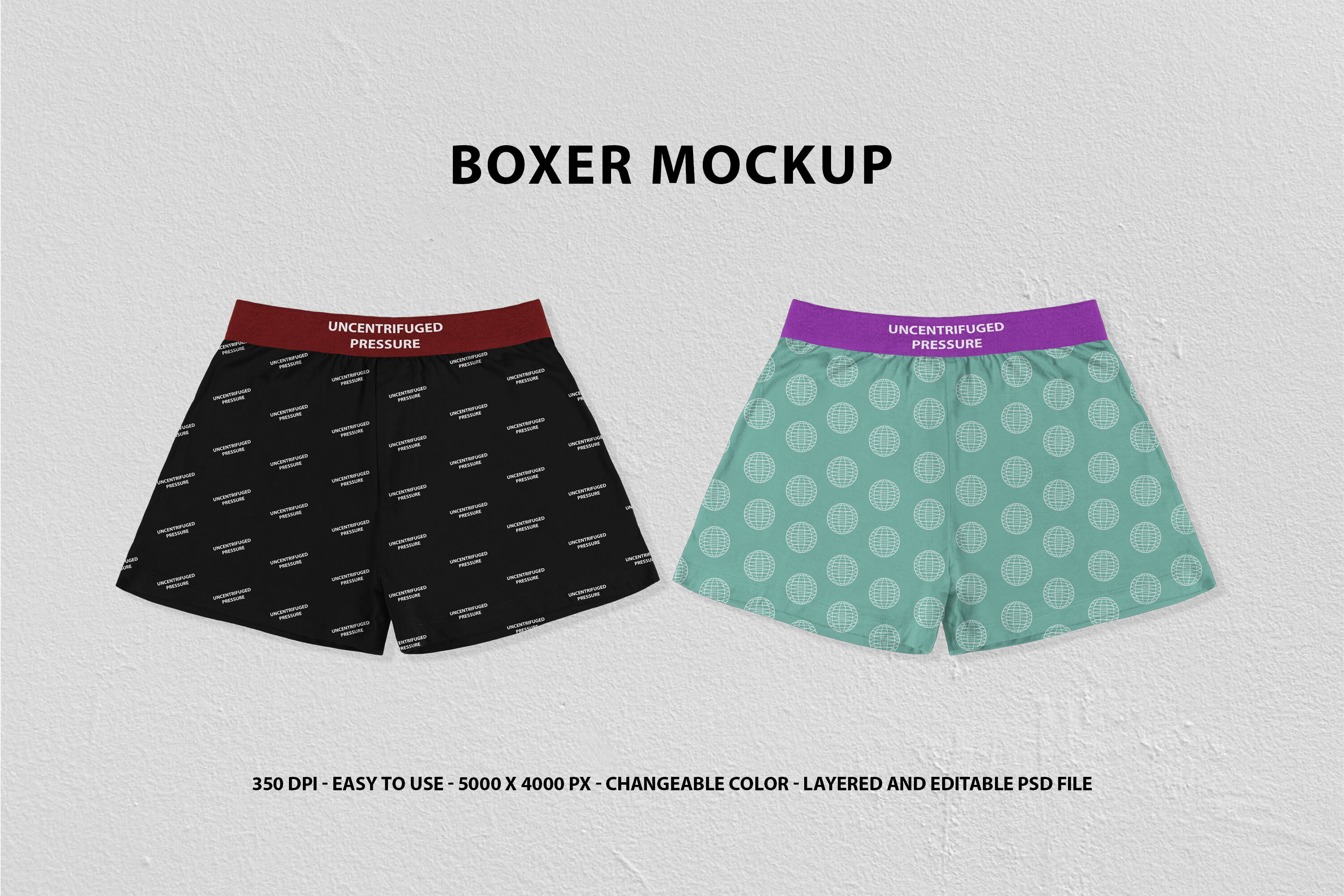 Download Boxers Mockup Free Yellowimages
