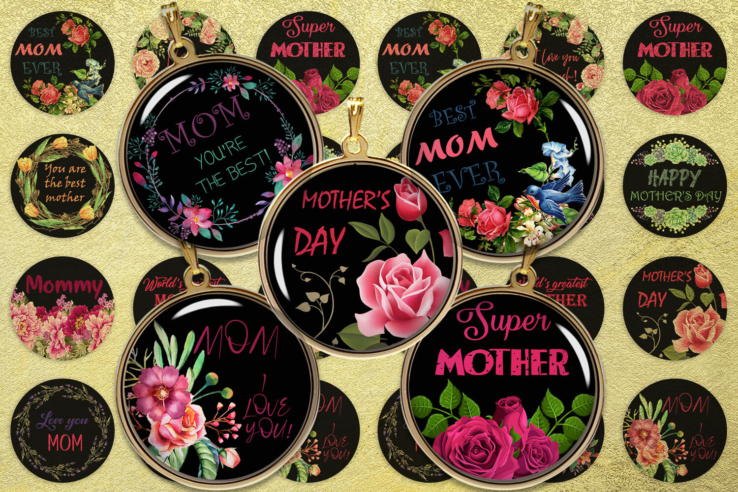 Mother S Day Digital Collage Sheet Quotes Digital Images By
