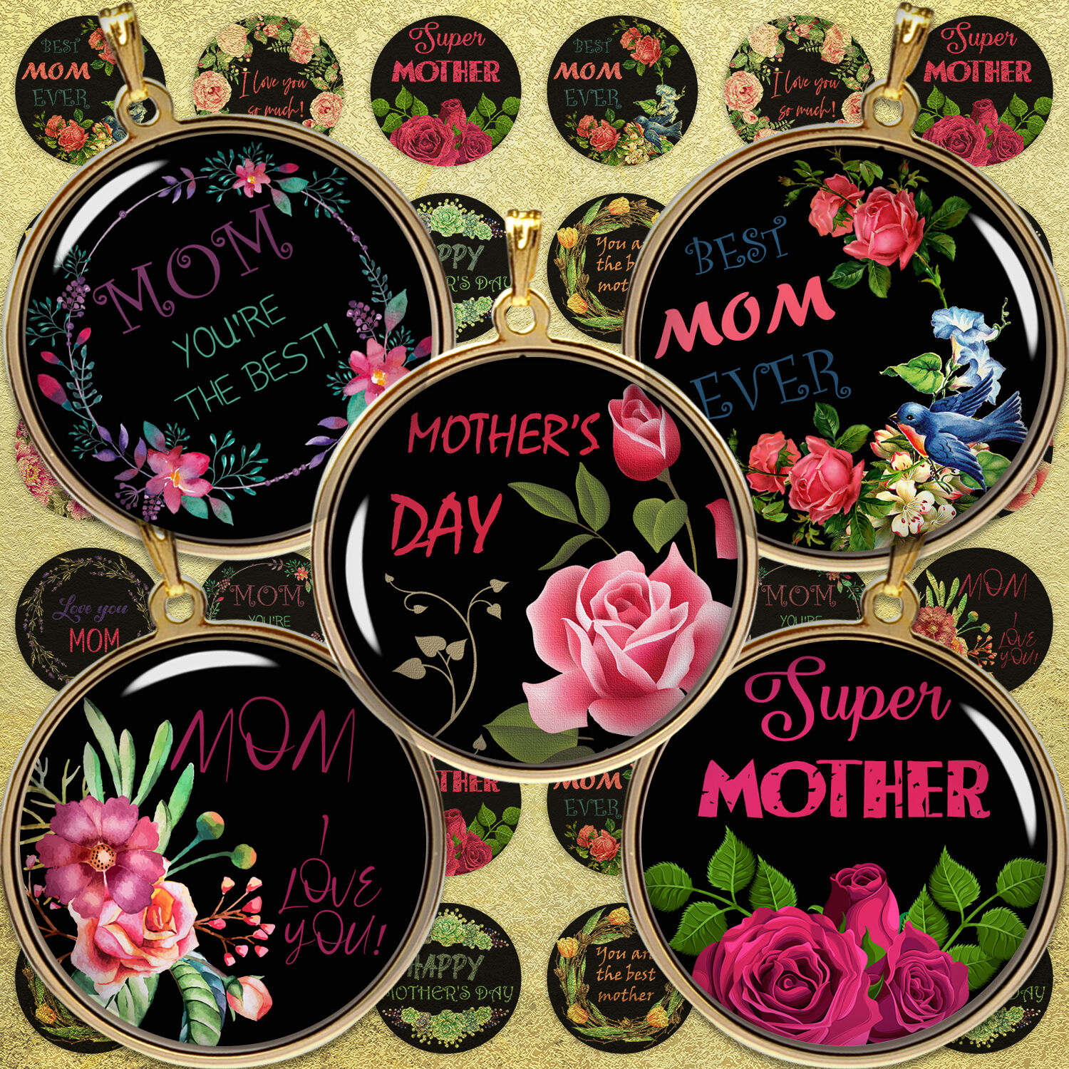Quotes Digital Collage Sheet Quotes Mother Day By Denysdigitalshop