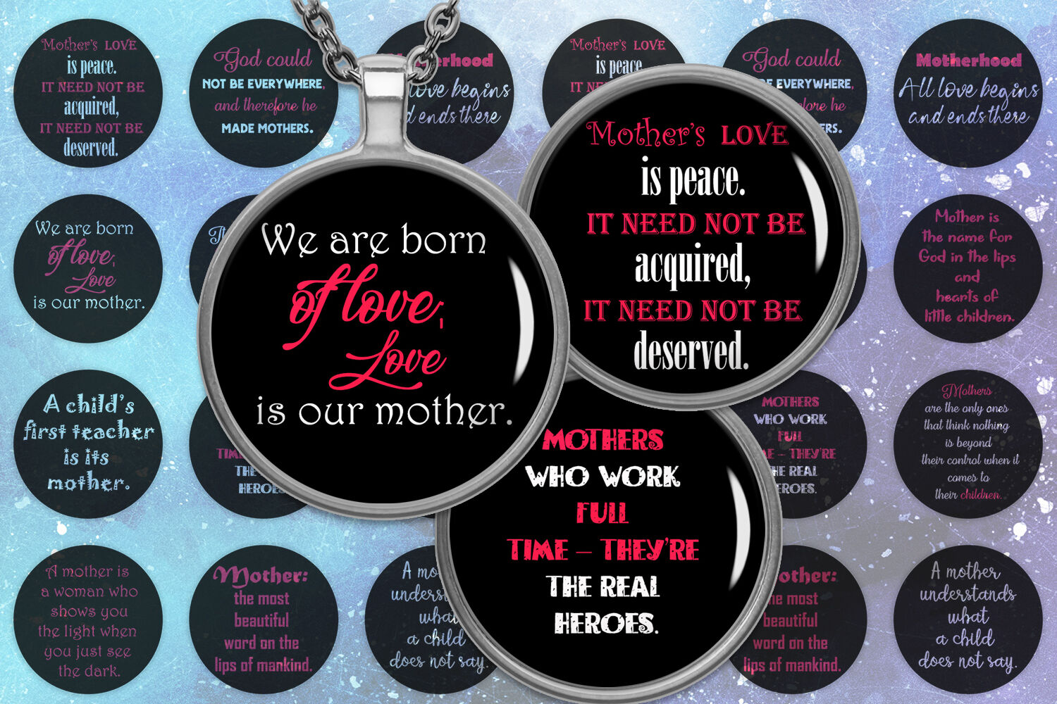 Mother Quotes Mother Day Digital Quotes Image By Denysdigitalshop