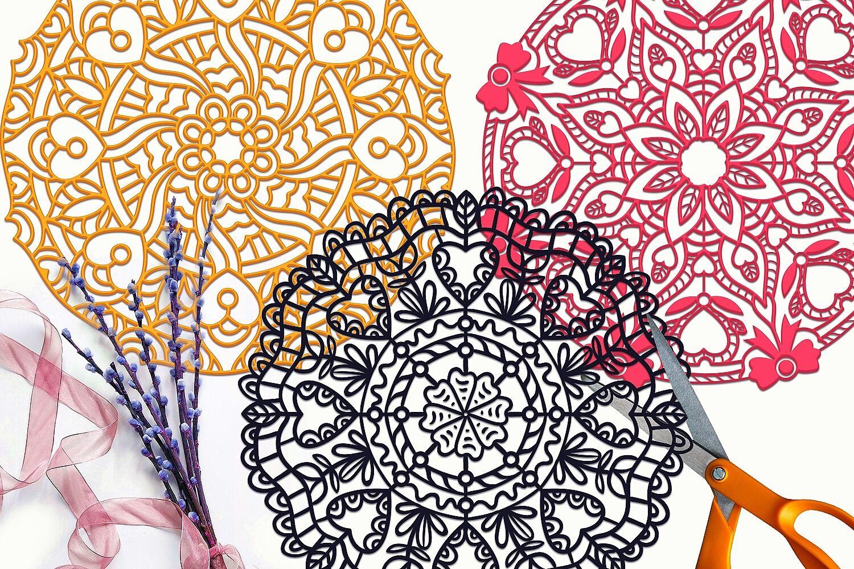 Download Love Mandalas SVG Cut Files Pack By Craft-N-Cuts | TheHungryJPEG.com