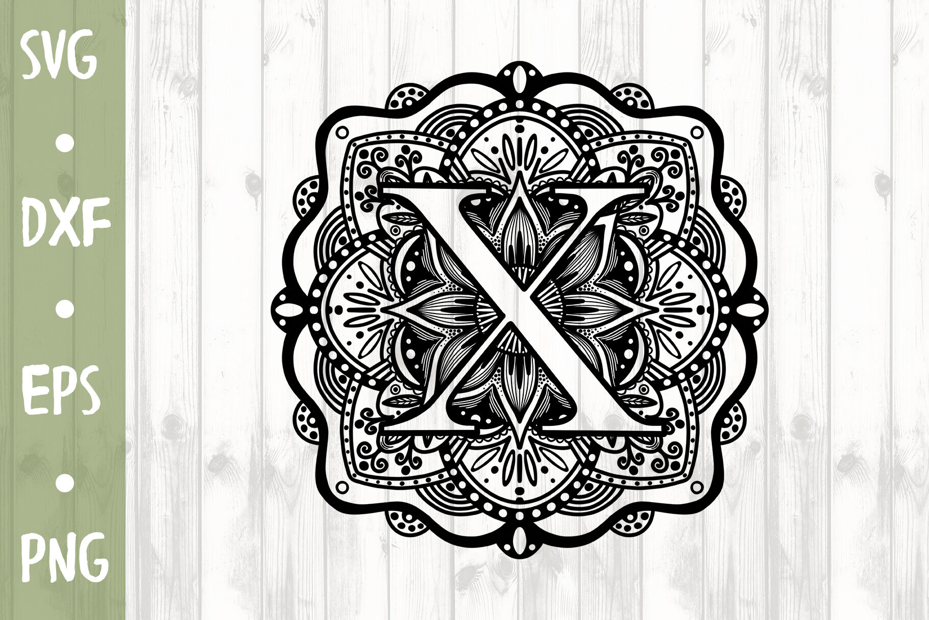 Letter X Svg Cut File By Milkimil Thehungryjpeg Com