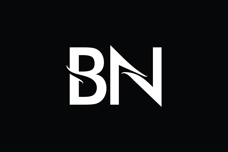 Bn Monogram Logo Design By Vectorseller Thehungryjpeg Com