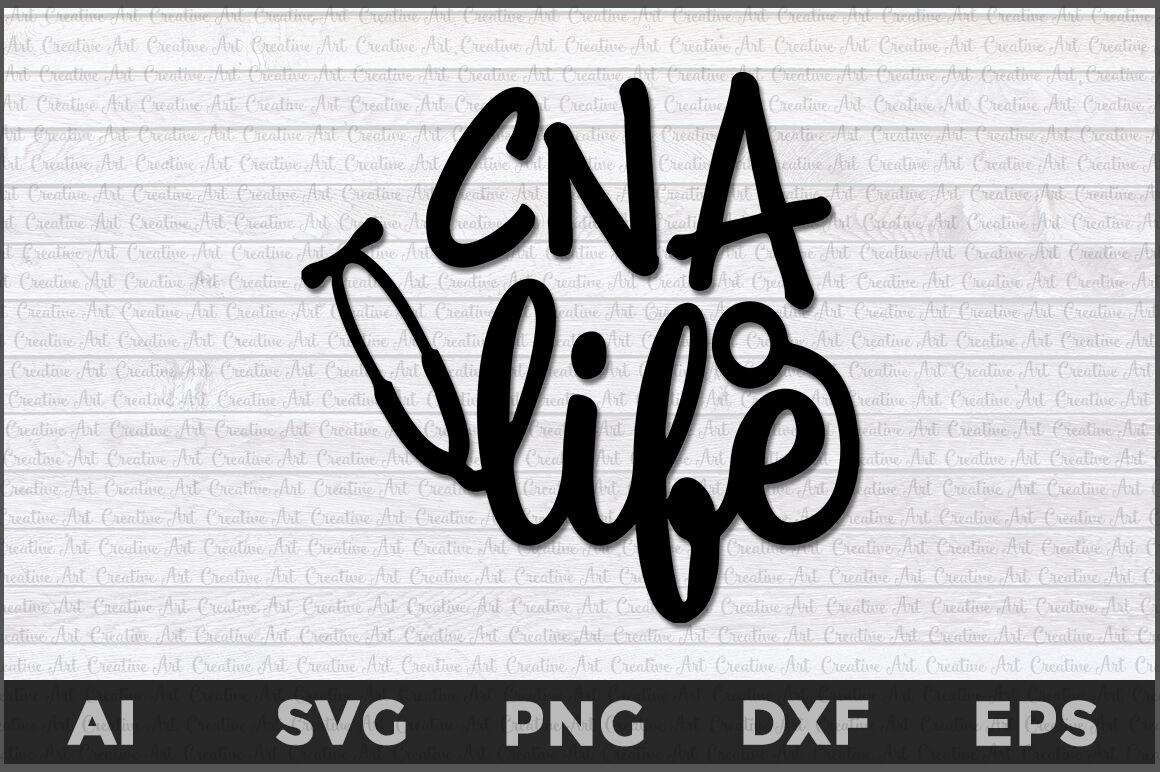 Cna Life Svg Cna Svg Cna By Creative Art Thehungryjpeg Com