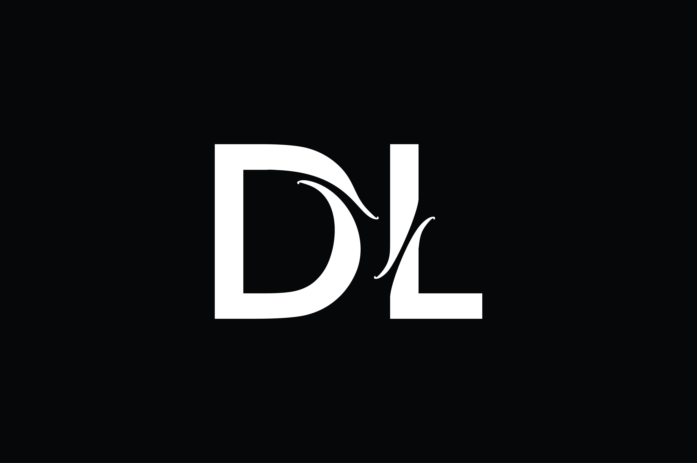 Dl Monogram Logo Design By Vectorseller Thehungryjpeg Com