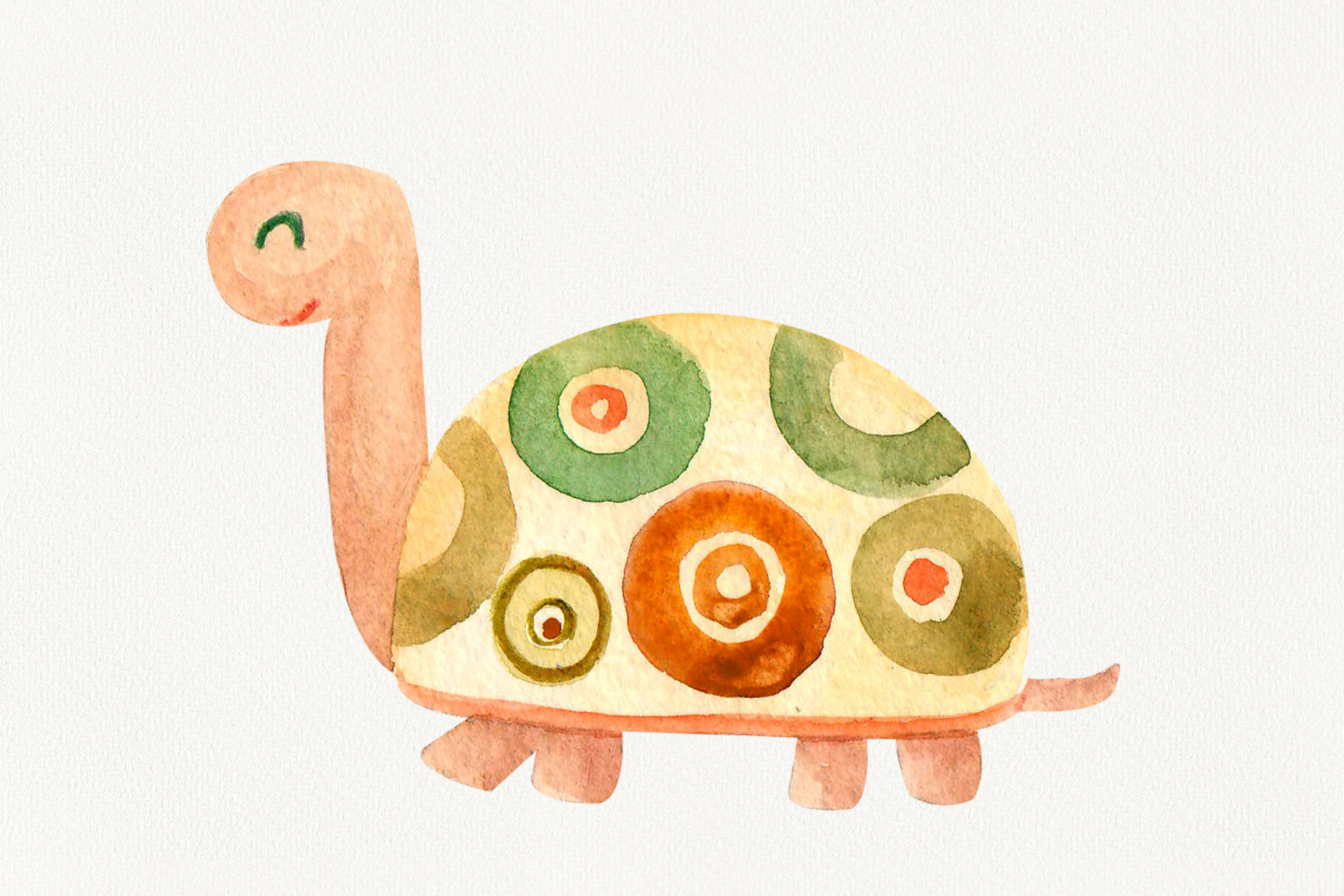 Turtle Watercolor Motivational Quotes By Inna Lytvynchuk