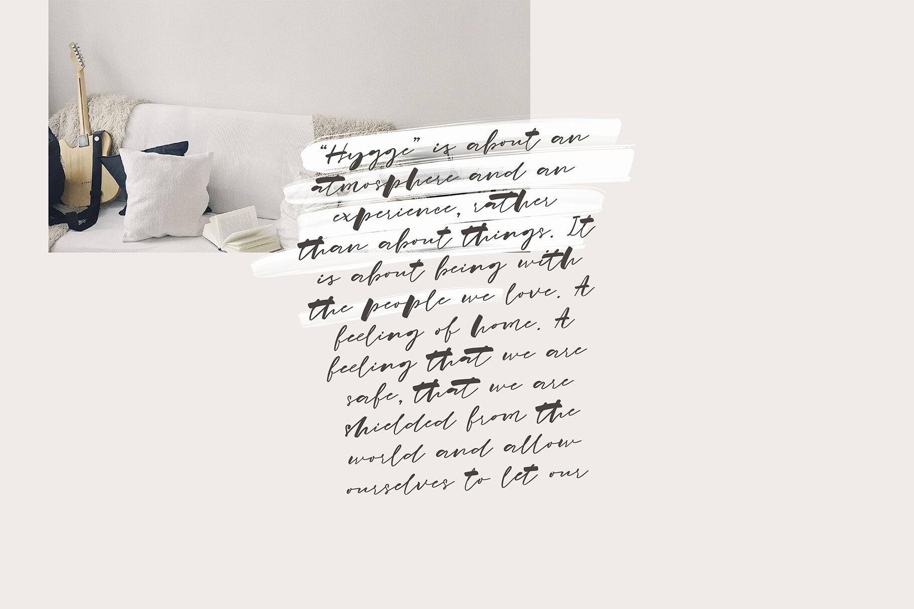 Hygge Home Signature Font By Katsia Jazwinska Thehungryjpeg Com