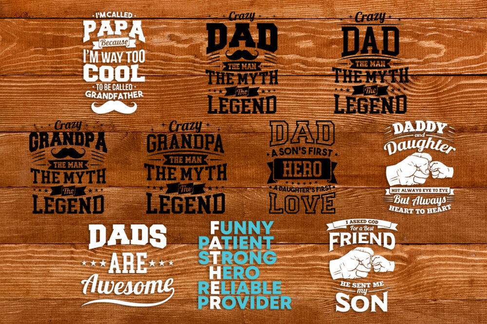 Dad T Shirt Design Bundle By Cuttingsvg Thehungryjpeg Com