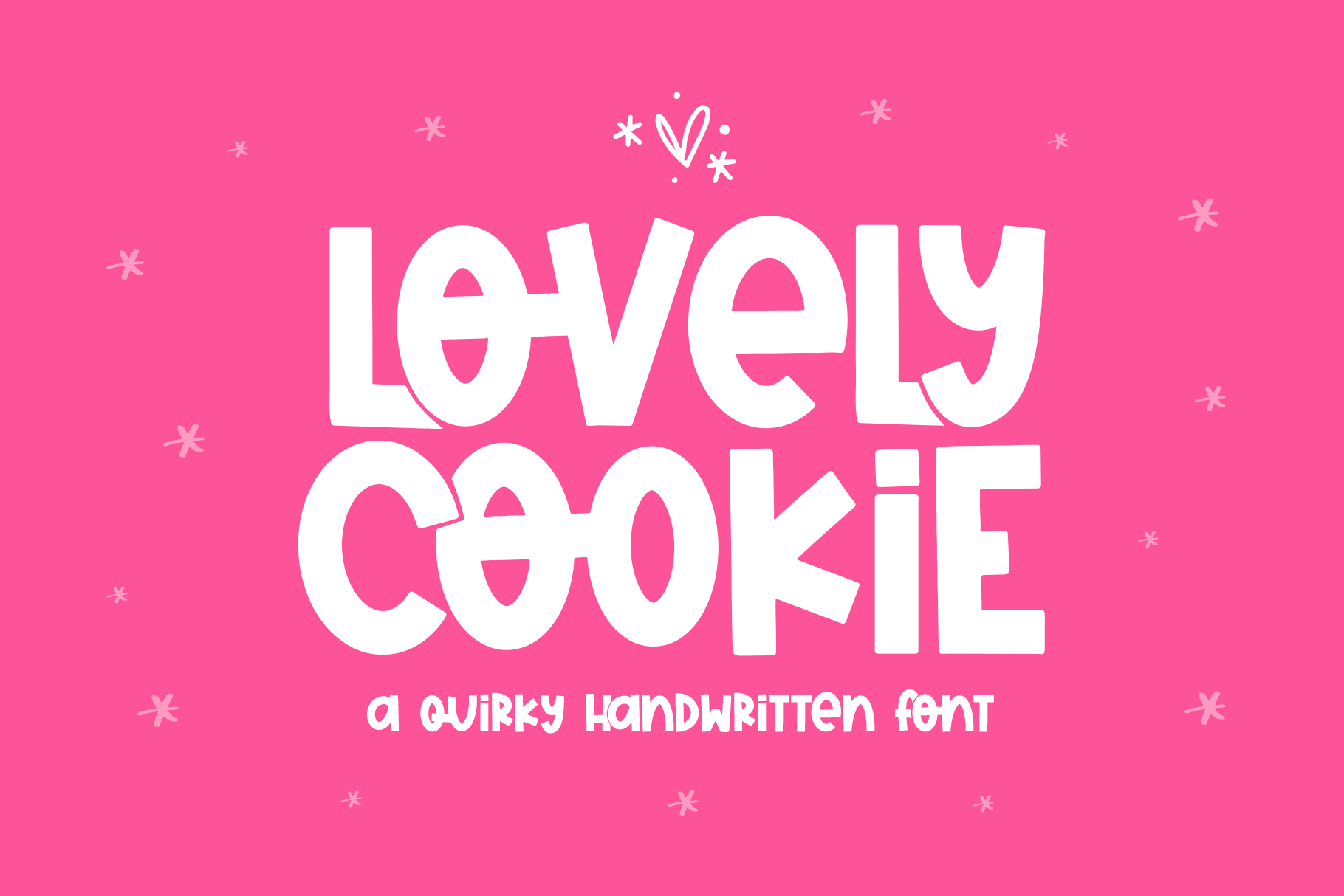 Lovely Cookie Quirky Handwritten Font By Ka Designs