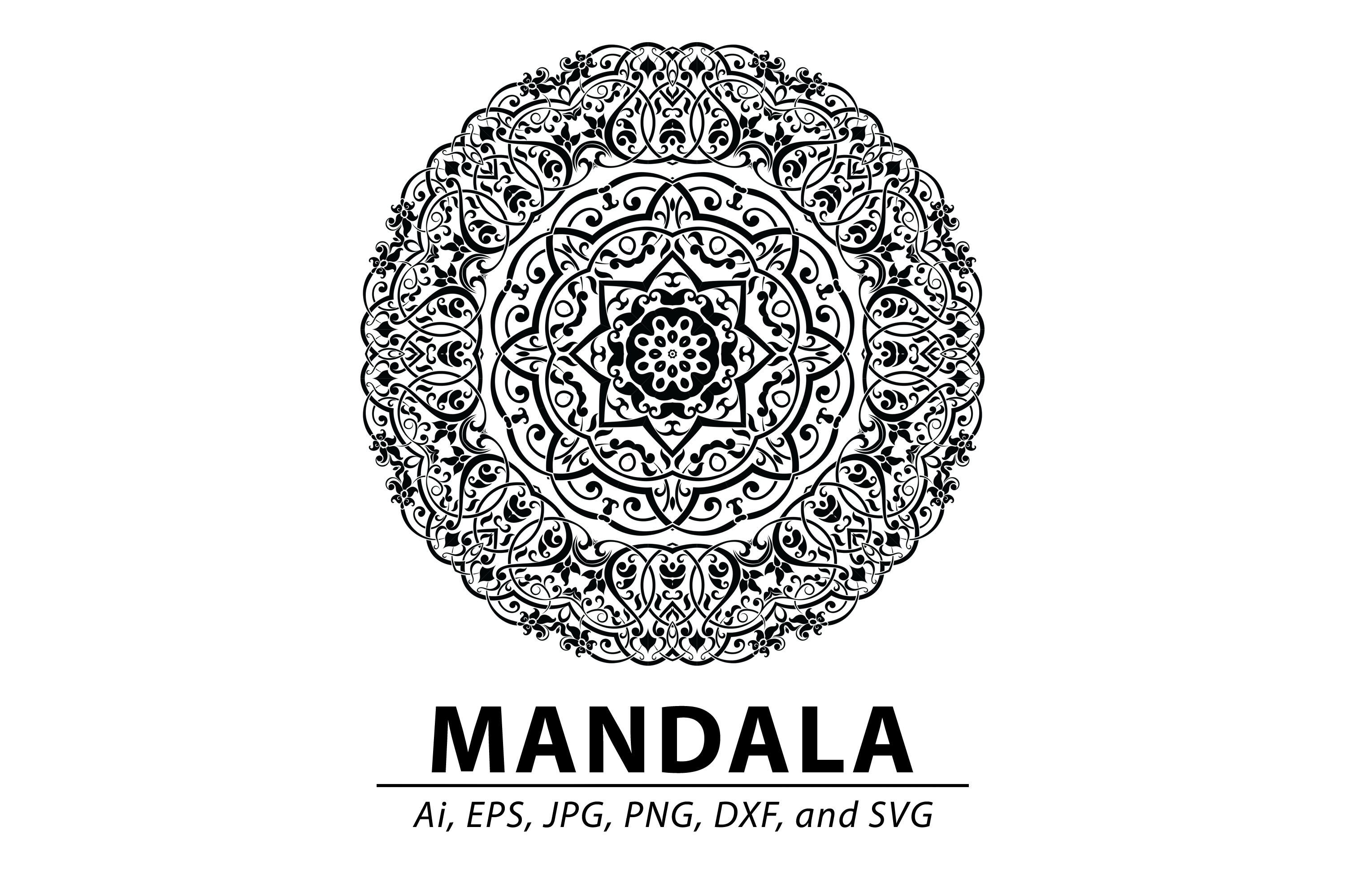 Mandala By Red Sugar Design Thehungryjpeg Com
