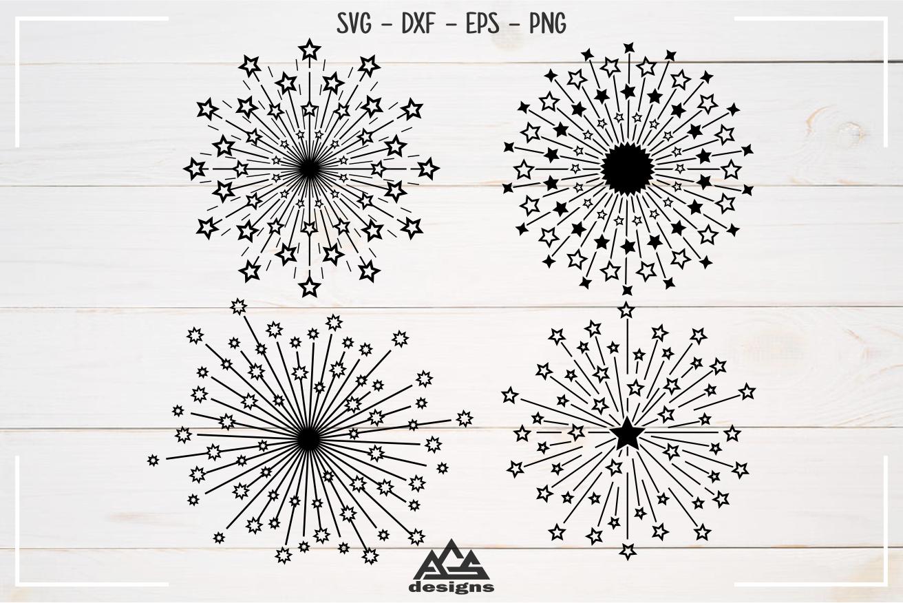 Starburst Packs Svg Design By Agsdesign Thehungryjpeg Com