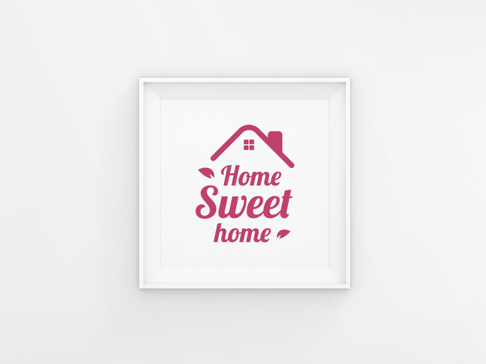 Home Sweet Home Text Quotes Svg Eps Png By Imaginicon