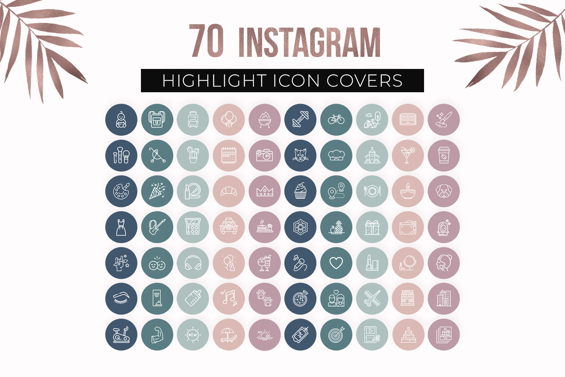 Instagram Story Highlight Icons Instagram Story Highlight