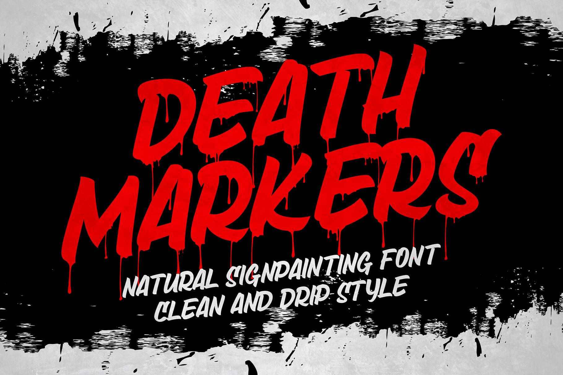 Death Markers By Figuree Thehungryjpeg Com