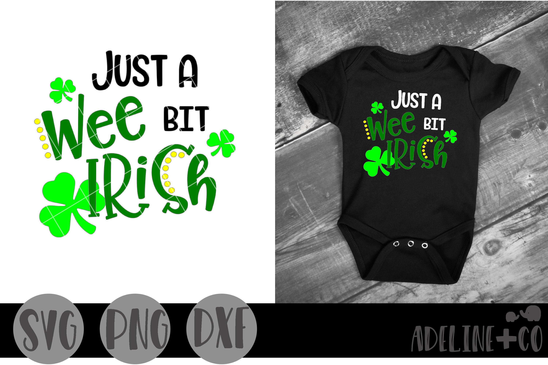 Wee Bit Irish PDF DXF SVG Patrick/'s Day St