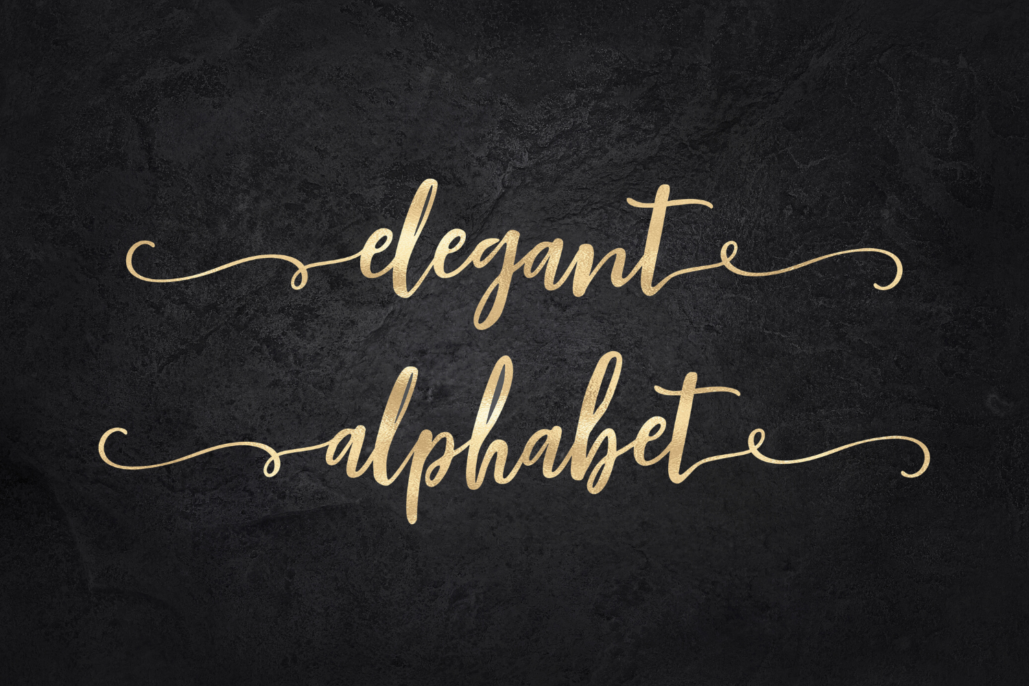 Gold Alphabet Clipart Mettalic Letters Wedding Fonts Brush