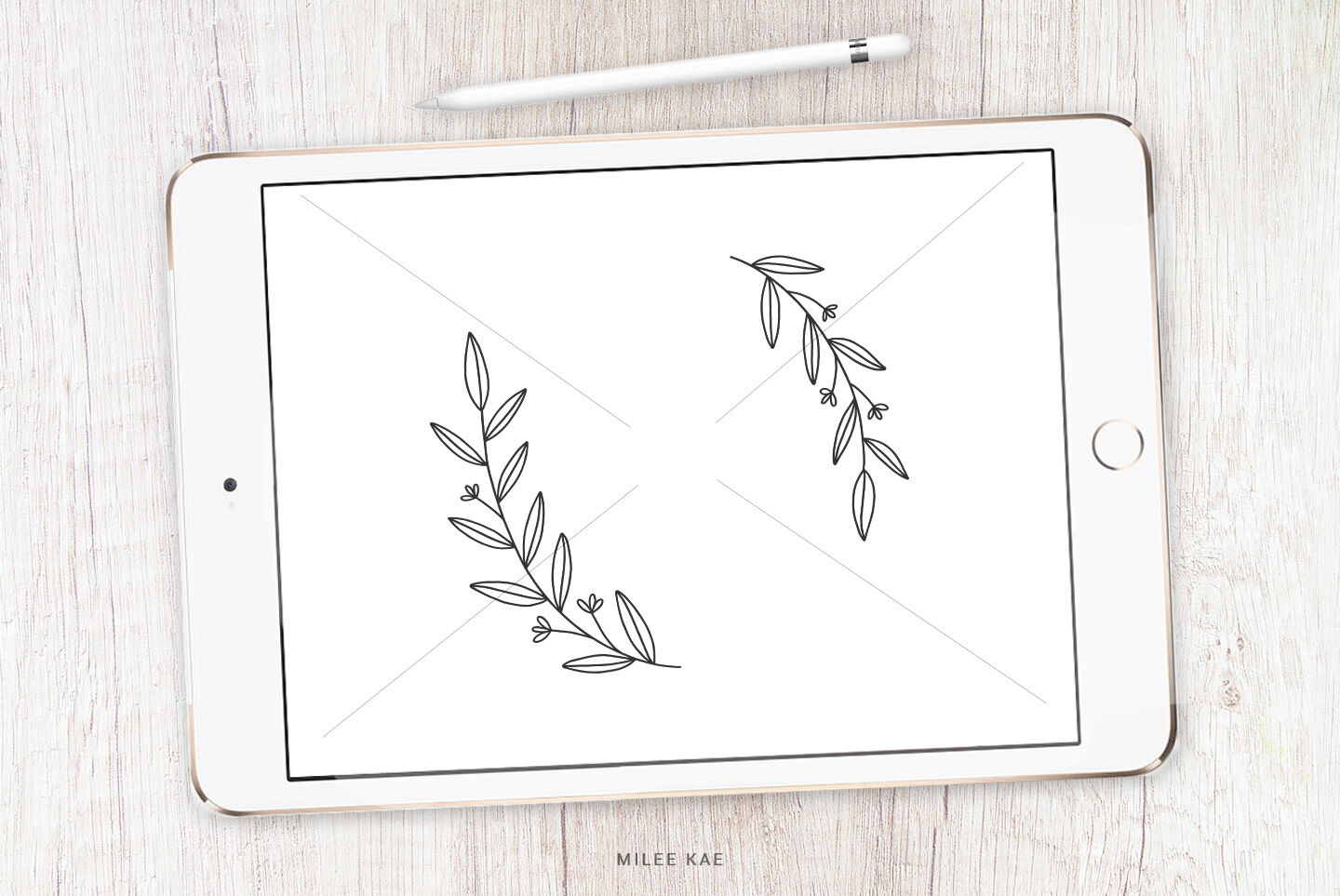 Wildflower Floral Wreath Svg Cutting File And Decal By Mileekae