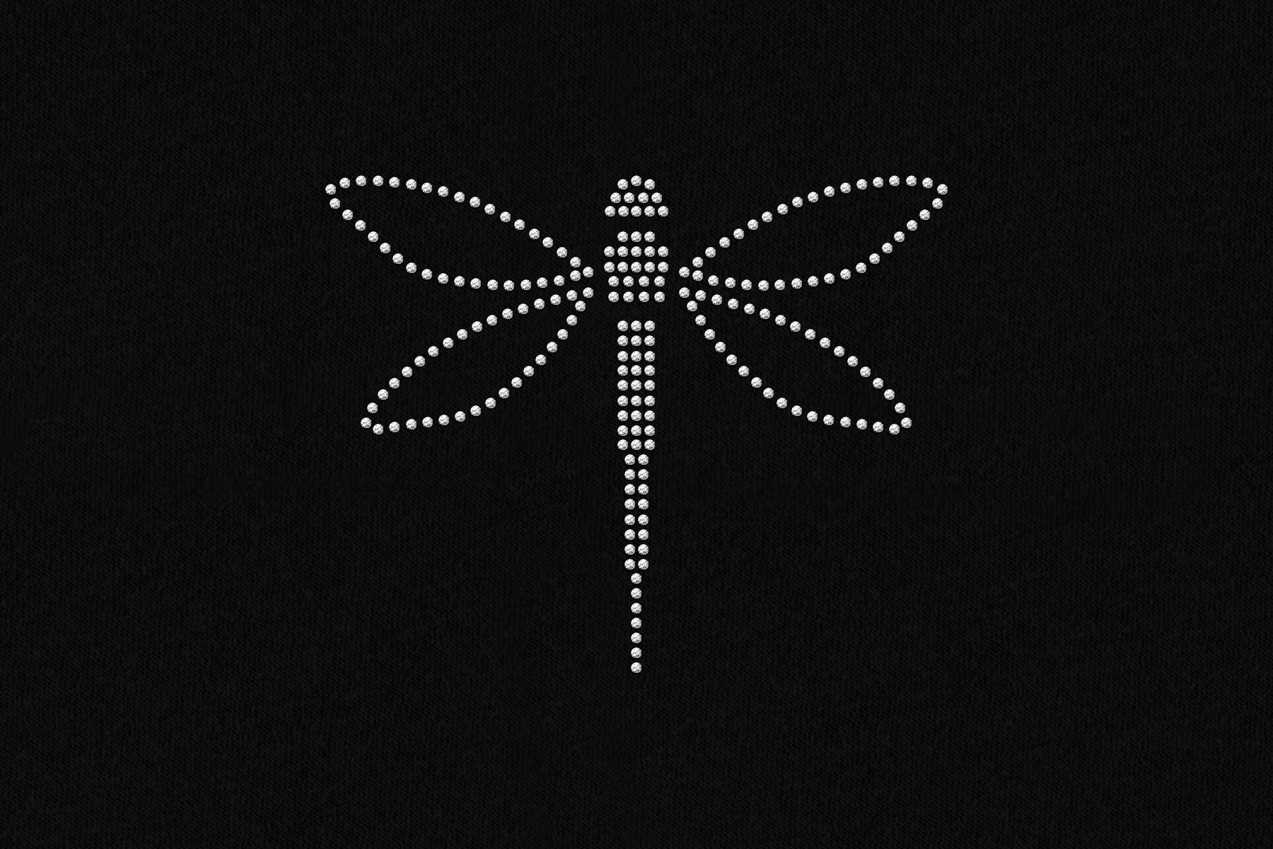 Dragonfly Rhinestone Template Svg Png Dxf By Designed By