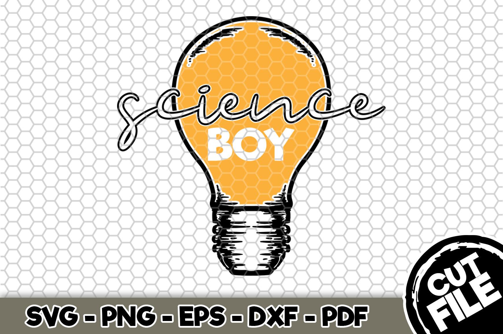 Science Boy Svg Cut File N148 By Svgartsy Thehungryjpeg Com