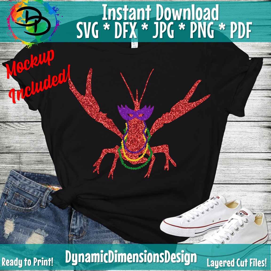 Crawfish Svg Mardi Gras Svg Craw Fish Svg Crawfish Shirt Mardi